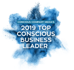 CCM 2019 Top Conscious Business Leader Badge